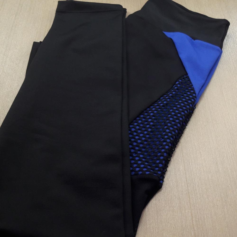 Preto / Azul Bic