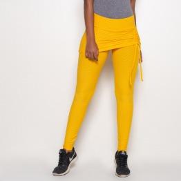 Legging com Tapa Bumbum Amarelo
