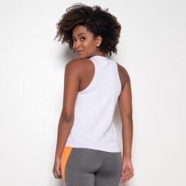 Camiseta Fitness Branco