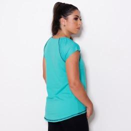 Blusa Mullet - Proteção UV Verde Tamy
