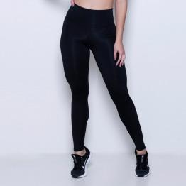 Calça Legging Lisa Flanelada Preto