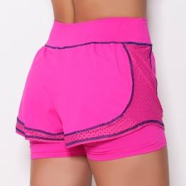 Short com Saia UV Rosa Pink