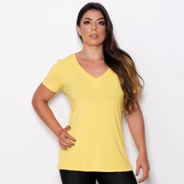 Blusa Soltinha Amarelo