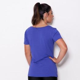 Blusa Soltinha Azul Bic