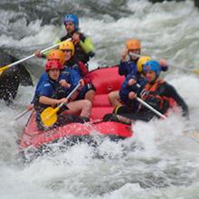 Rafting em Lumiar