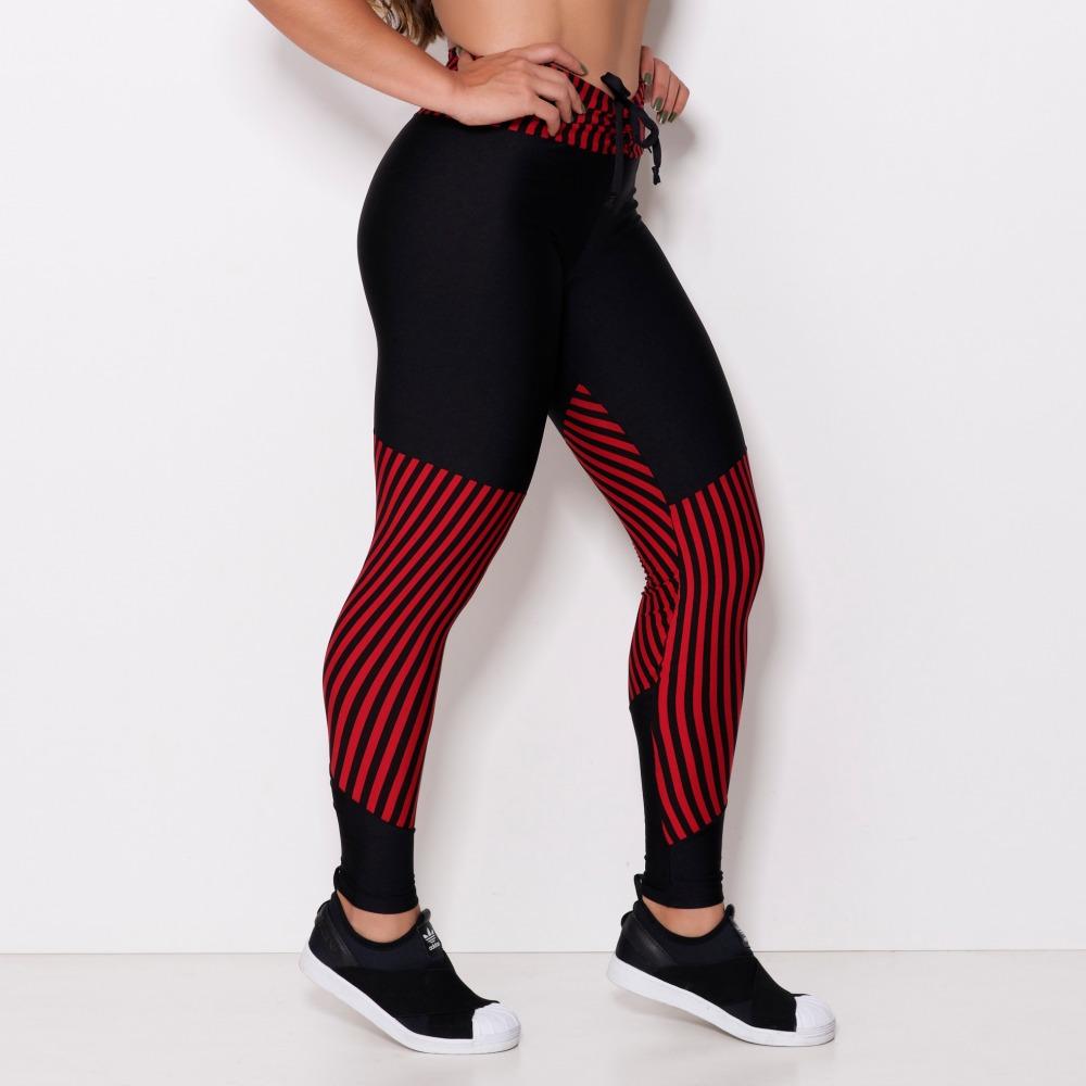 Calça Legging Listrada
