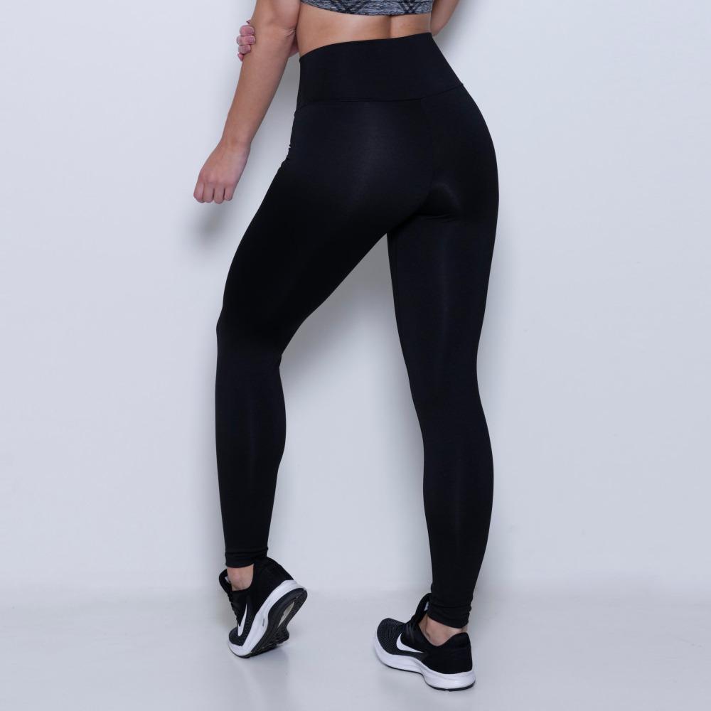 Calça Legging Lisa Flanelada