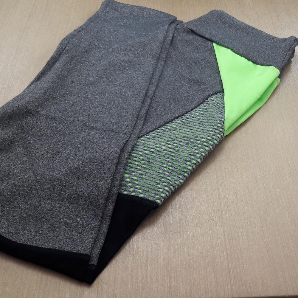 Calça Legging Detalhe em Tule