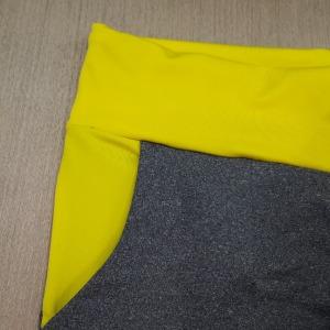 Calça Amarração e Bolso em Microfibra